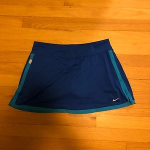 Nike dri fit tennis skirt
